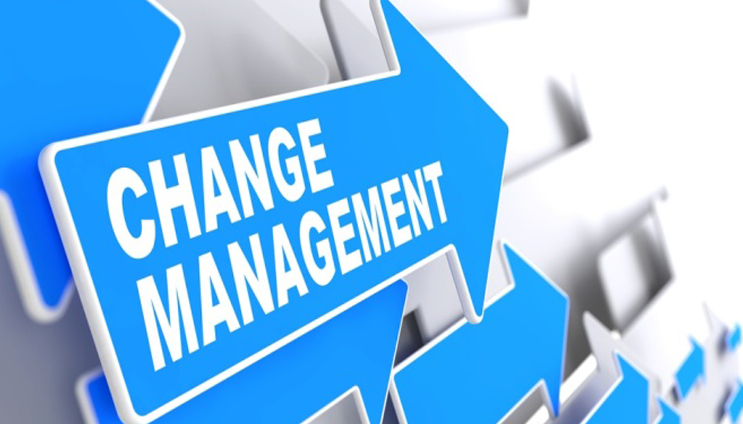 <B>CHANGE MANAGEMENT</B>