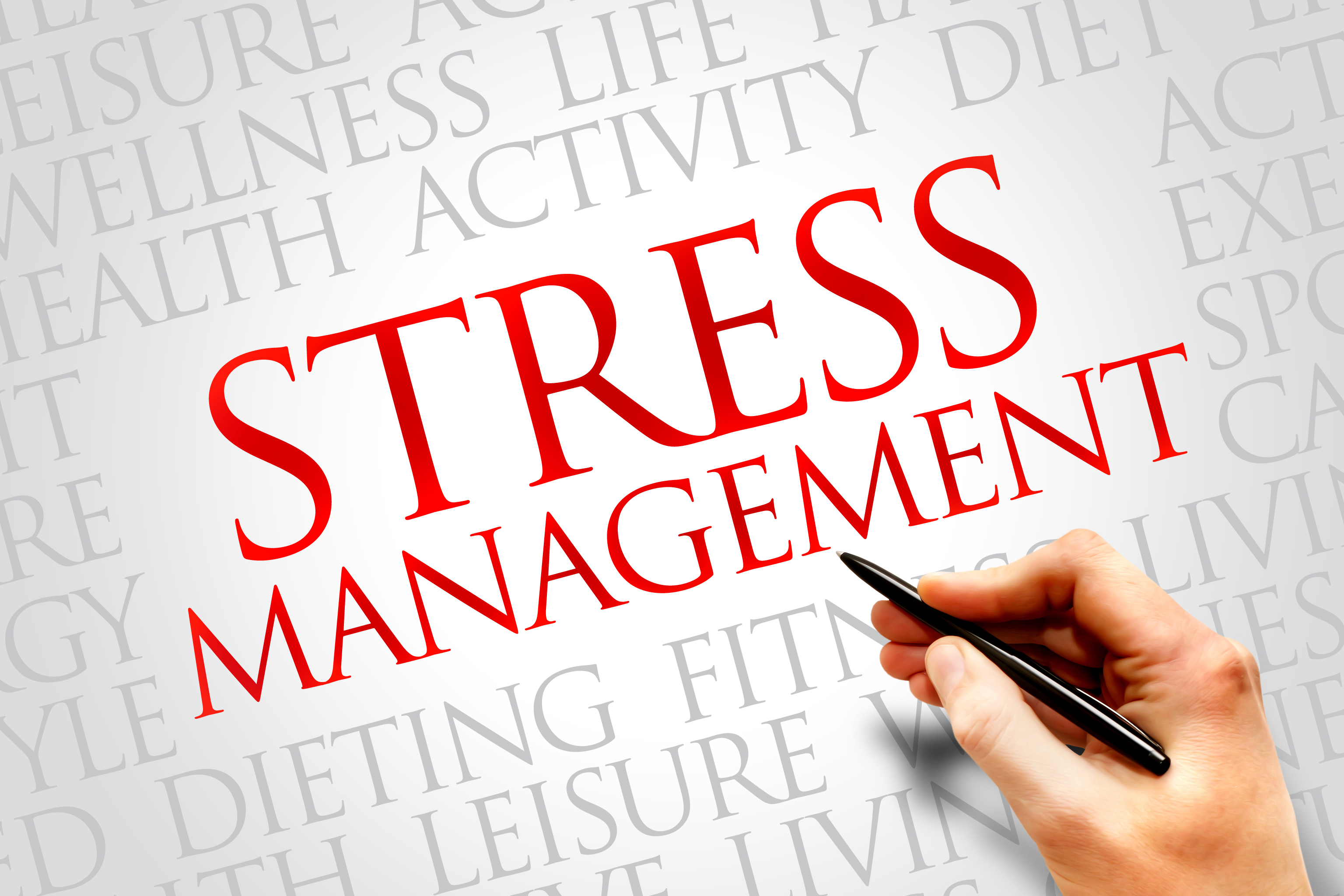 <B>STRESS MANAGEMENT</B>